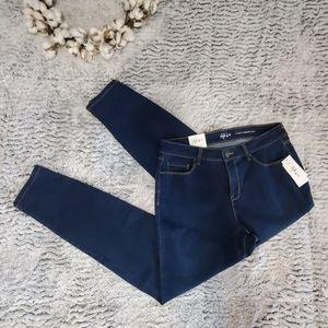 STYLE & CO Blue Wave Curvy Skinny Jean 10 NWT